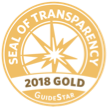GuideStar 2018 Gold Seal of Transparency